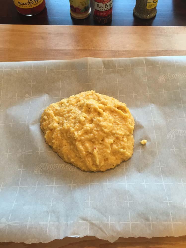 Cauliflower Dough for Pizza