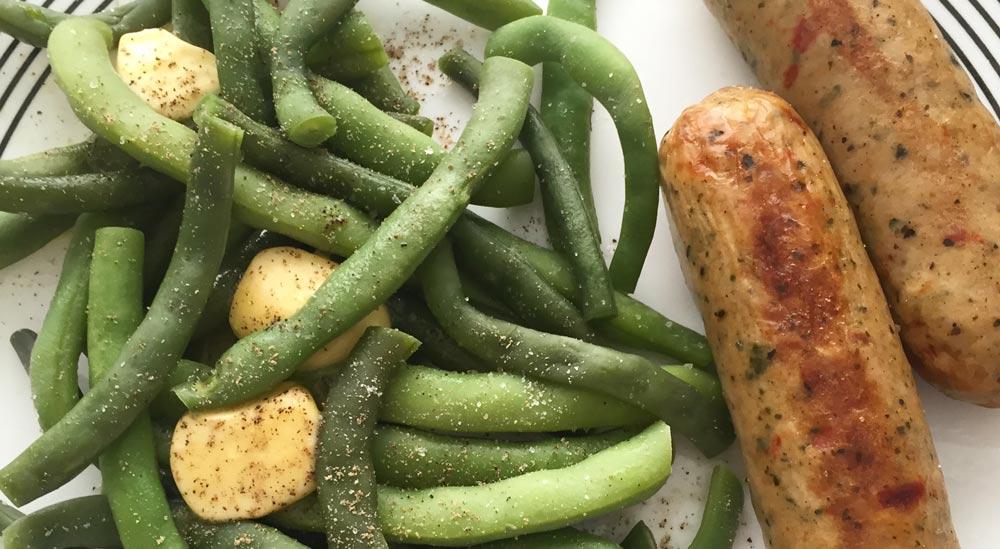 sausage-green-beans