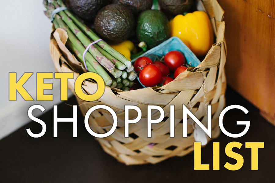 Ketogenic-Friendly Grocery Shopping List