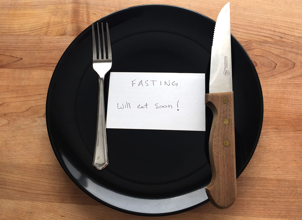Fasting Will Eat Soon