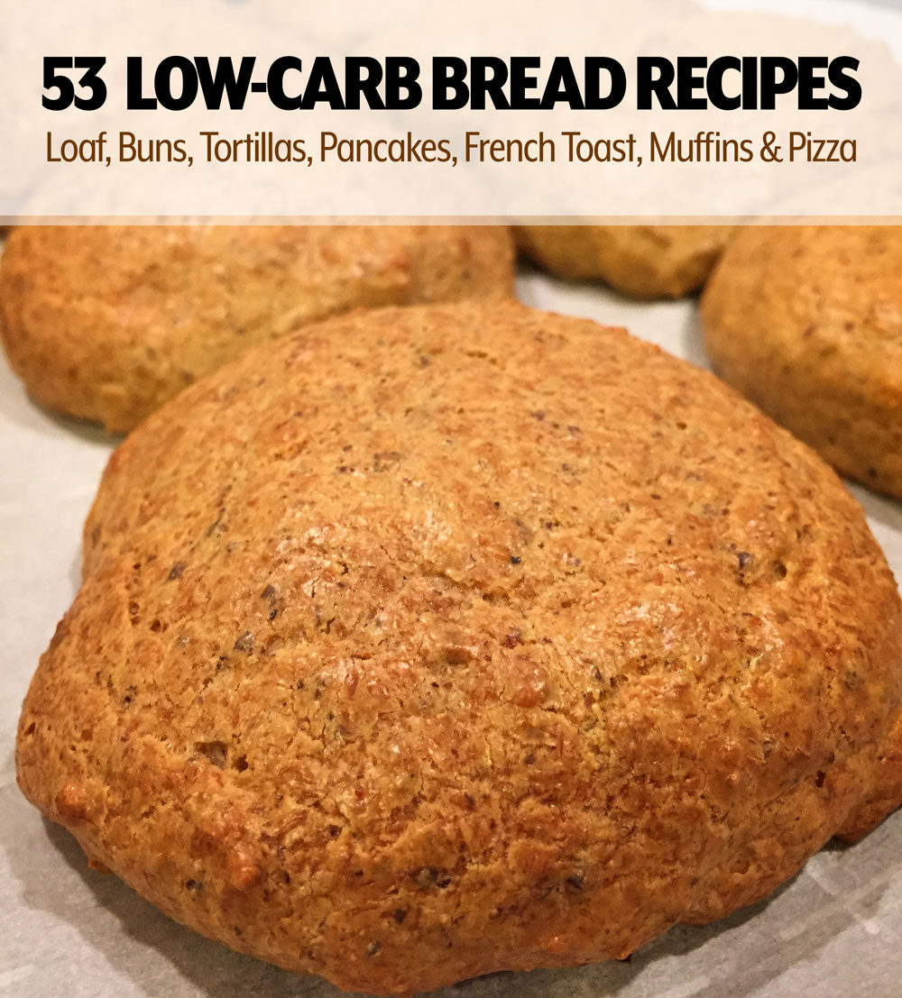 Keto and Low Carb Bread Recipe Ultimate List