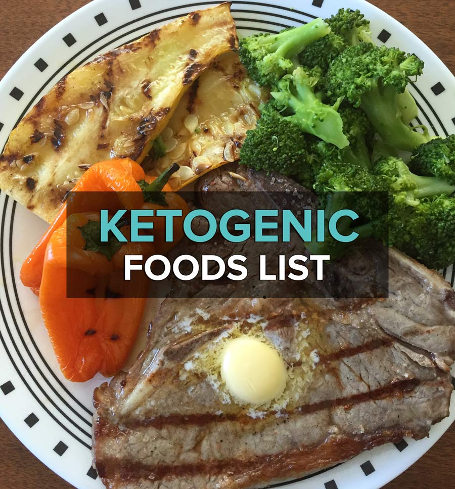 A List Of Keto Foods